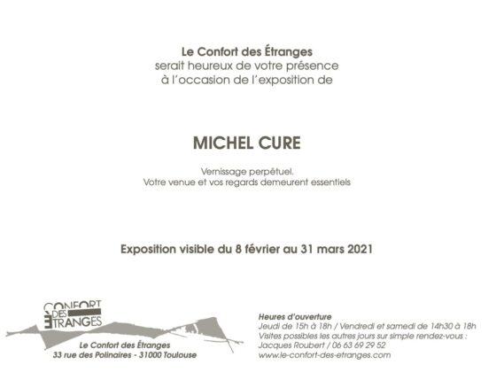 Michel Cure vernissage 2021